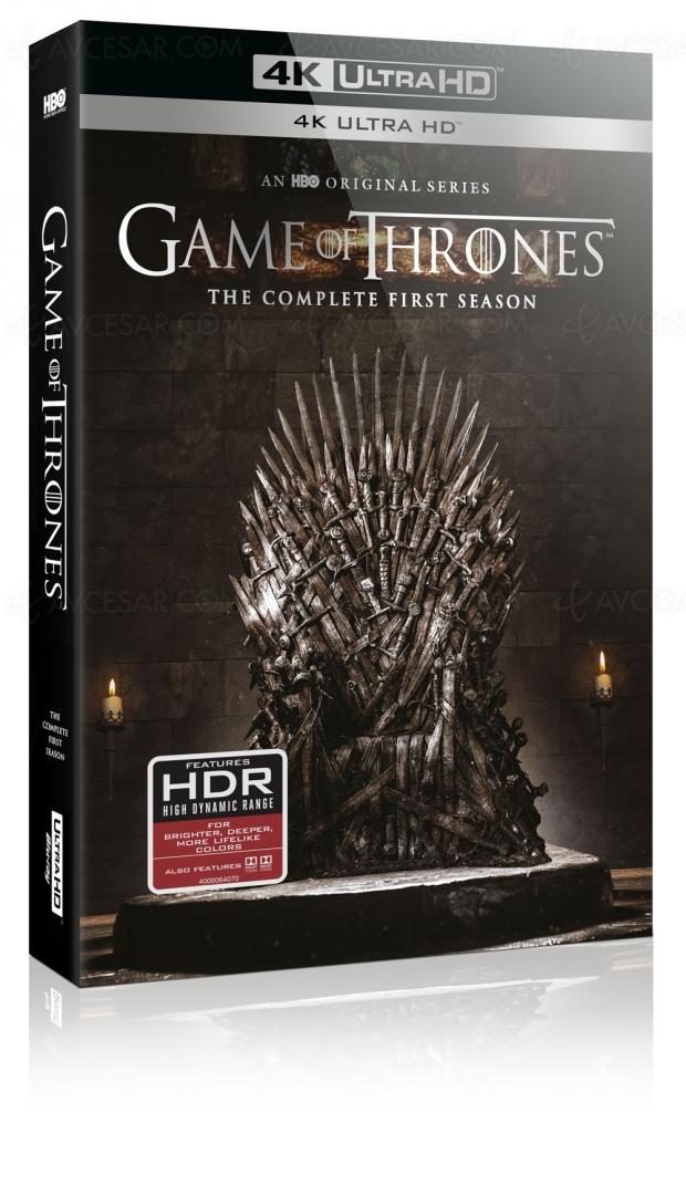 Game of Thrones saison 1 4K Ultra HD Blu‑Ray, Warner France confirme