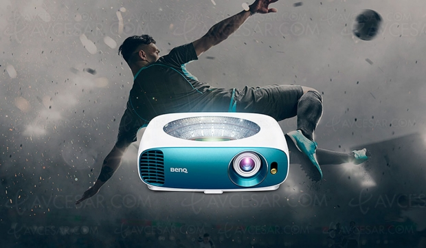 Vidéoprojecteur simili Ultra HD/4K BenQ TK800, 92% Rec.709, HDR10, 3 000 lumens et 1 299 €