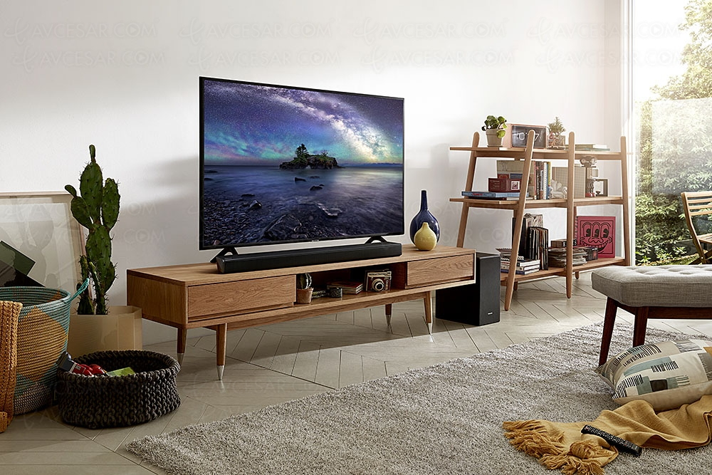 samsung hw n450 soundbar review a solid entry level. Black Bedroom Furniture Sets. Home Design Ideas