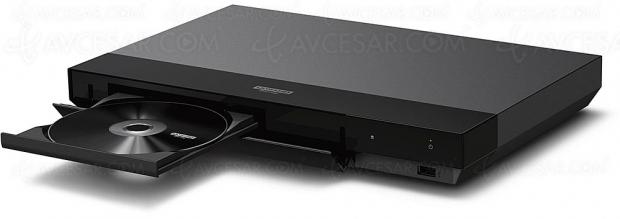 Test de la platine Ultra HD Blu‑Ray Sony UBP‑X700, en ligne