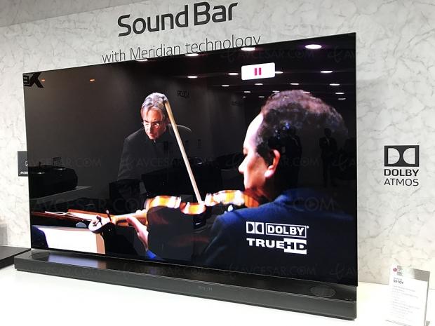 LG SK10Y, barre de son Dolby Atmos 5.1.2 et Chromecast en partenariat avec Meridian