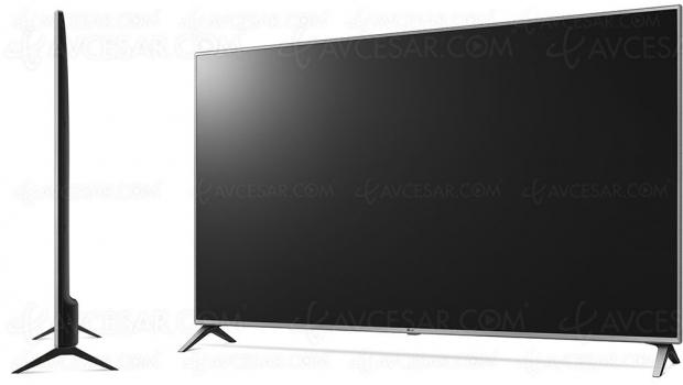 TV LED Ultra HD LG UK6500, un TV 86'' aux spécifications très différentes…