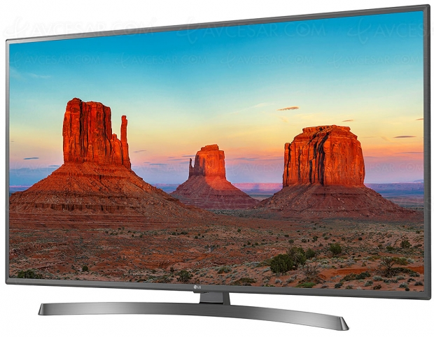 TV LED Ultra HD LG UK6750 : diagonales 43