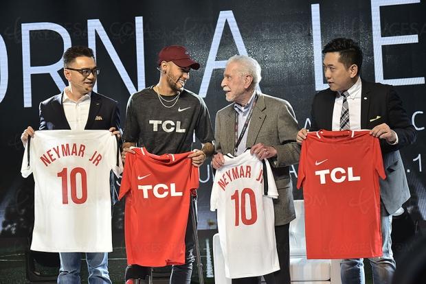 Coup d'envoi pour le partenariat TCL et Neymar Jr