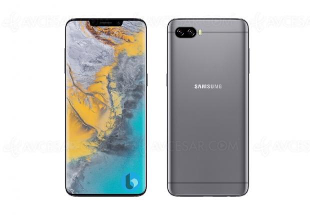 Encoche en vue pour le Samsung Galaxy S10 ?