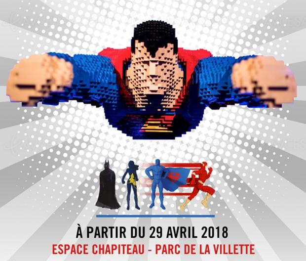 The Art of the Brick : DC Super Heroes, expo en Lego