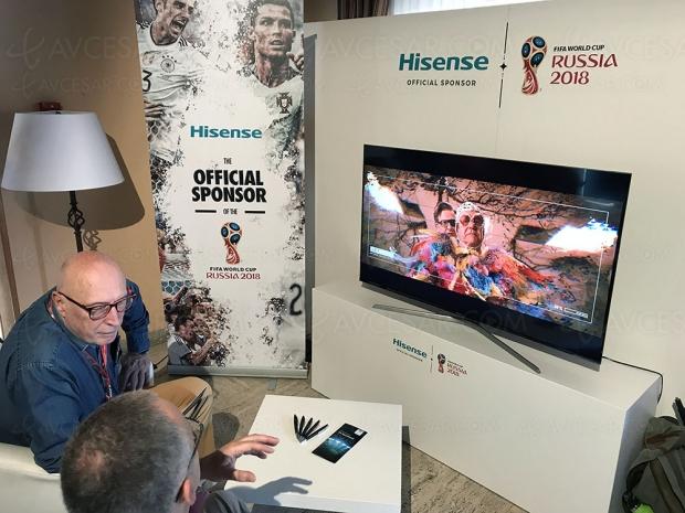 TV LED Hisense 55'' et 3 000 zones en approche…