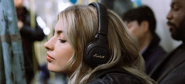 Casque Bluetooth Marshall Mid A.N.C avec contrôle actif du bruit