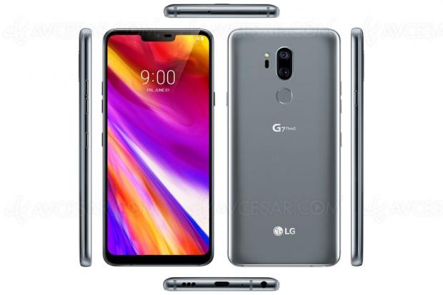Fuite d'images du LG G7 ThinQ avant l'annonce officielle