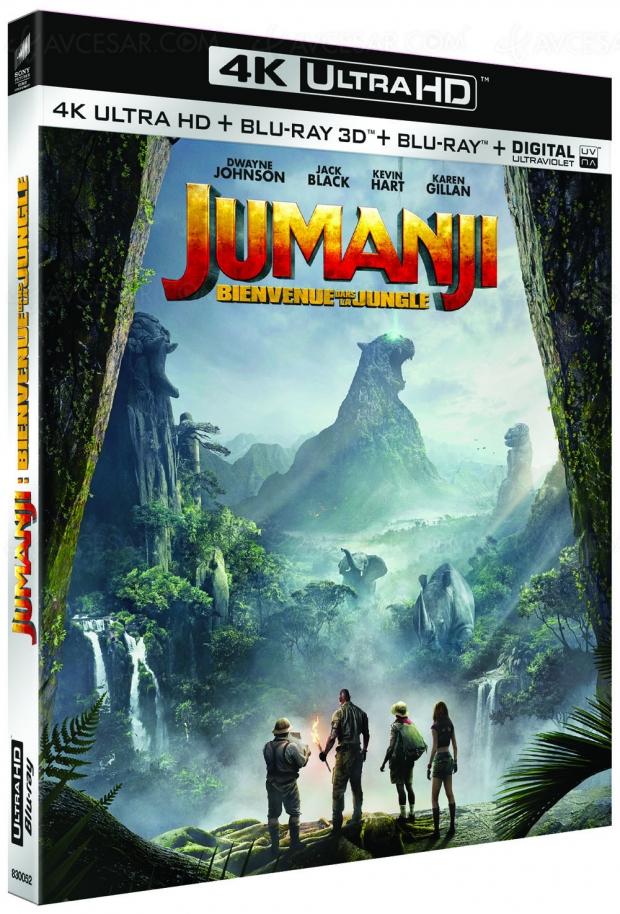 Concours Jumanji : bienvenue dans la jungle 4K Ultra HD Blu-Ray à gagner