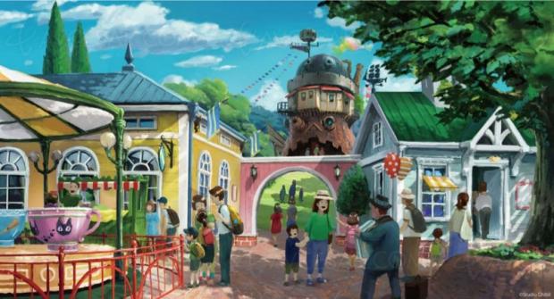 Premières images du parc d'attractions Ghibli (Mononoke, Totoro, Kiki…)