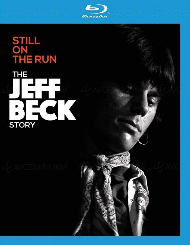 Still on the Run : l'histoire de Jeff Beck en Blu-Ray et DVD