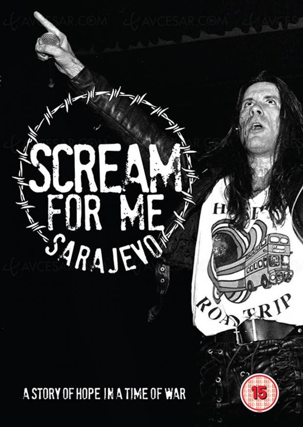 Scream for me Sarajevo : Bruce Dickinson, plus fort que les bombes