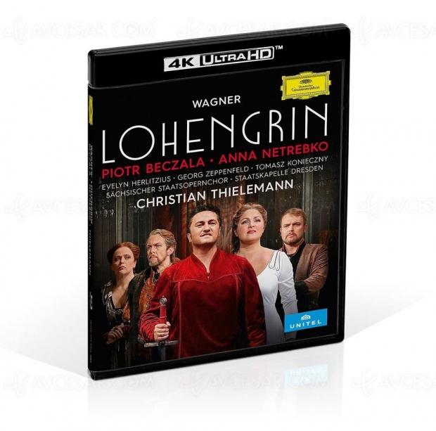 Lohengrin de Richard Wagner en 4K Ultra HD Blu-Ray chez Deutsche Grammophon