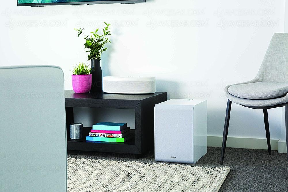 yamaha musiccast sub100 ns nsw100 caisson de basses multiroom sans fil. Black Bedroom Furniture Sets. Home Design Ideas