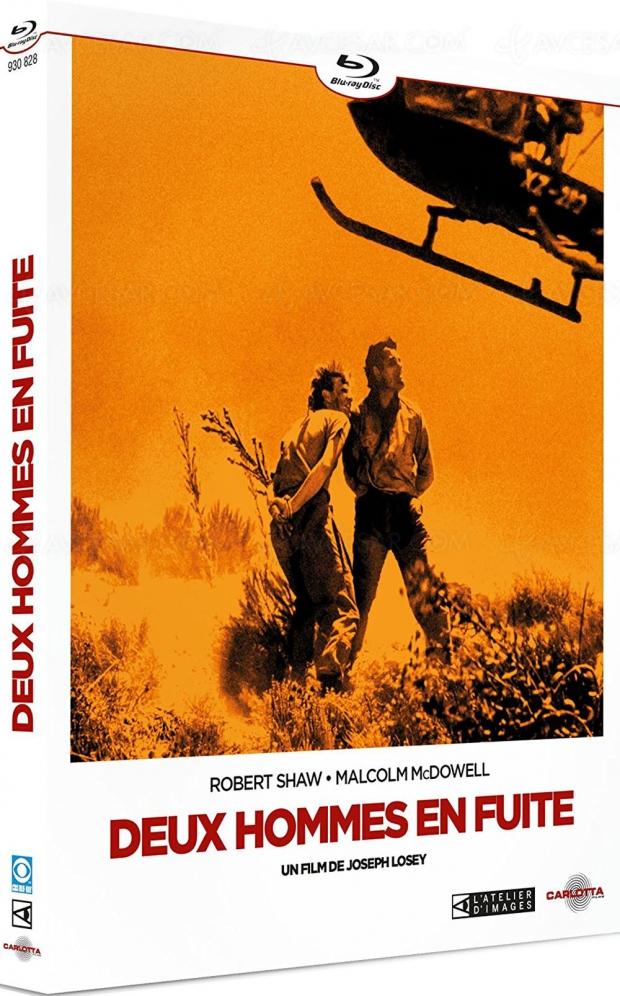 Deux hommes en fuite : Robert Shaw et Malcolm McDowell à la merci du wilderness