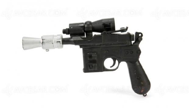 Le Blaster de Han Solo aux enchères pour quelques (centaines de milliers de) dollars