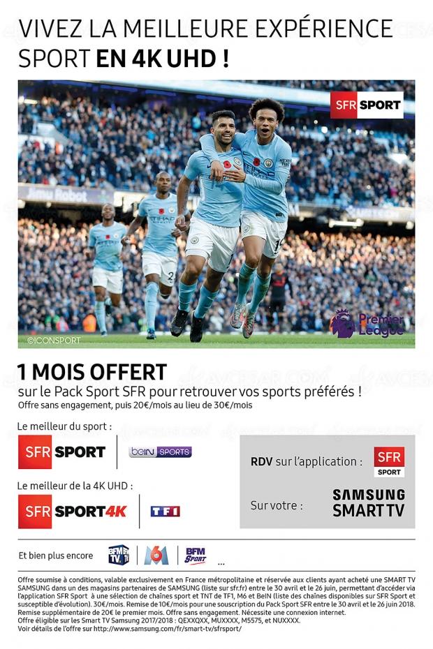 Partenariat ODR Instants Marquants Samsung/SFR Sport, vivez tous les matchs de la Coupe du Monde de Football 2018 dont ceux de TF1 en Ultra HD