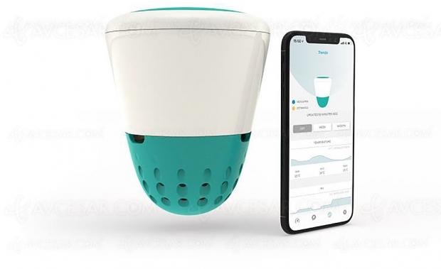 Ondilo Ico, analyseur d'eau de piscine connecté