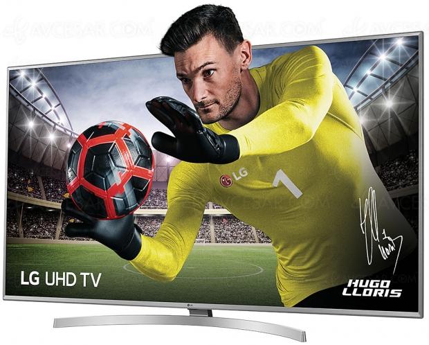 TV LED Ultra HD LG UK6950, mise à jour prix indicatif