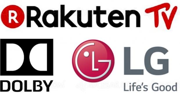 HDR Dolby Vision et Dolby Atmos pour Rakuten TV sur téléviseurs LG