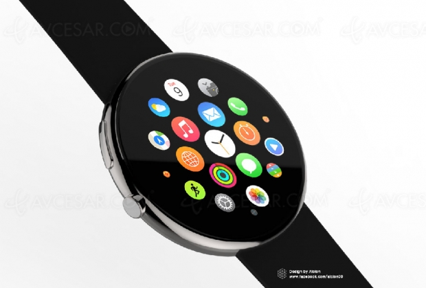 Apple Watch ronde en vue ?