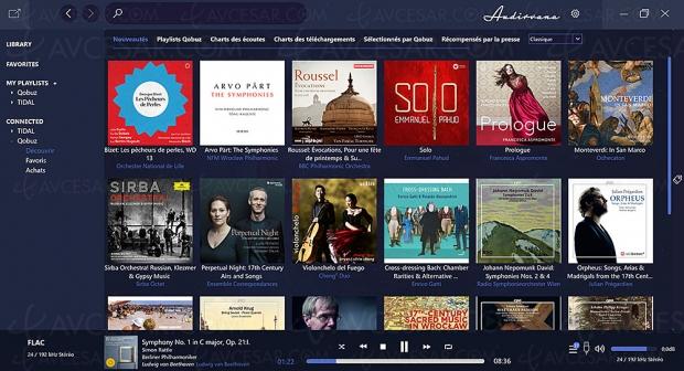 Lecteur Hi‑Res Audio Audirvana Plus enfin disponible sur PC