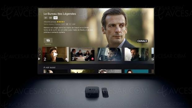 L'Apple TV 4K devient un décodeur Ultra HD/4K HDR Canal+