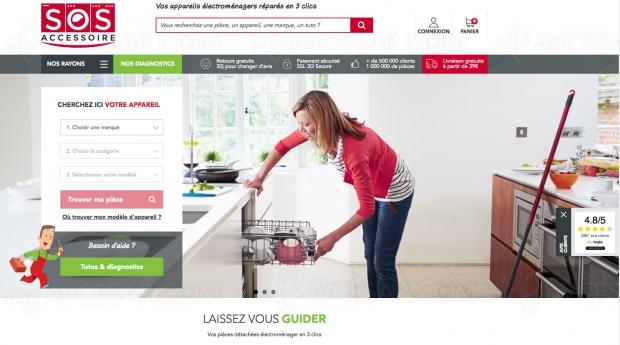 SOS Accessoire, 250 000 appareils référencés pour vos réparations maison