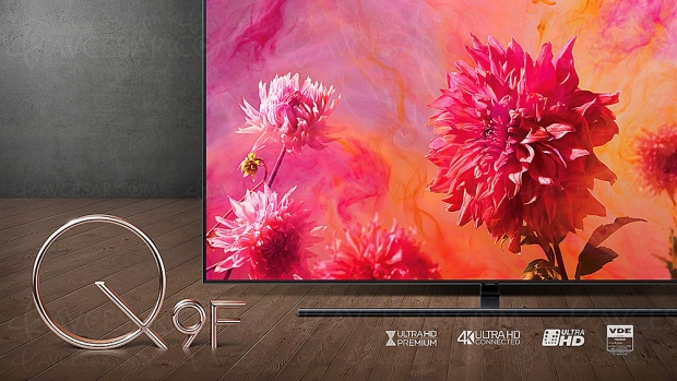 Test TV QLED Ultra HD Samsung QE65Q9F 2018, en ligne