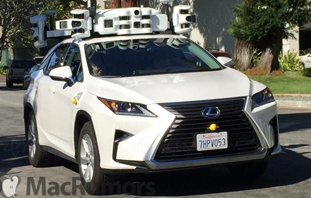 Le parc d'automobiles autonomes Apple augmente encore…