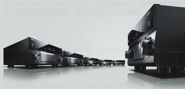 Amplificateurs Home Cinéma 2018 Aventage Yamaha RX‑A80, MusicCast Surround et Surround AI au programme pour encore plus d'ergonomie et de réalisme