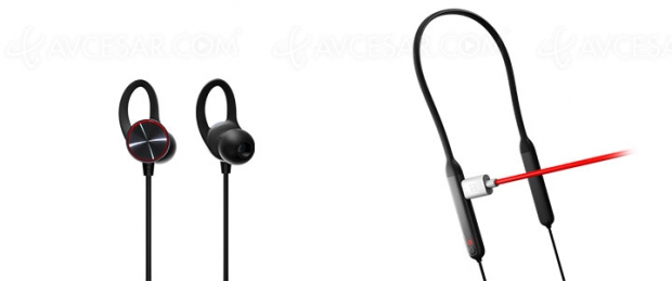 Écouteurs sans‑fil OnePlus Bullets Wireless Bluetooth
