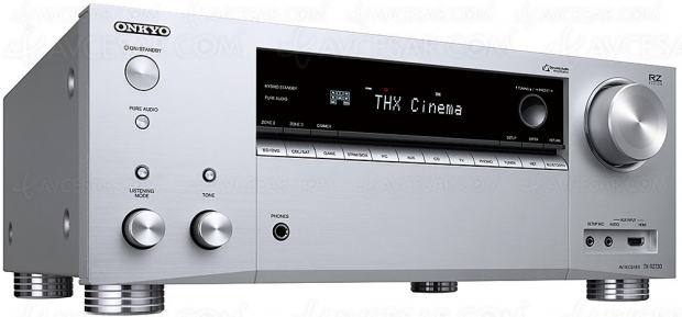 Onkyo TX-RZ730, ampli 9.2, Dolby Atmos, DTS:X, THX Select, HDMI 2.0b, HDCP 2.2, FlareConnect, ChromeCast, DTS Play‑Fi…