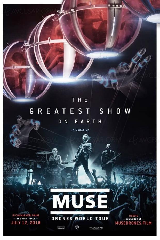 Muse, en live dans des cinémas autour du monde le 12 juillet 2018
