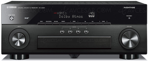Ampli 7.2 Yamaha RX‑A880, HDR Dolby Vision, HDMI 2.0b/HDCP 2.2, BT.2020, DLNA, MusicCast Surround, Bluetooth, AirPlay, Dolby Atmos, DTS:X…