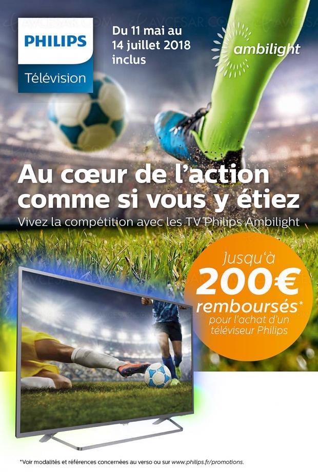 Offre de remboursement TV Ultra HD Philips, jusqu'à 200 € remboursés