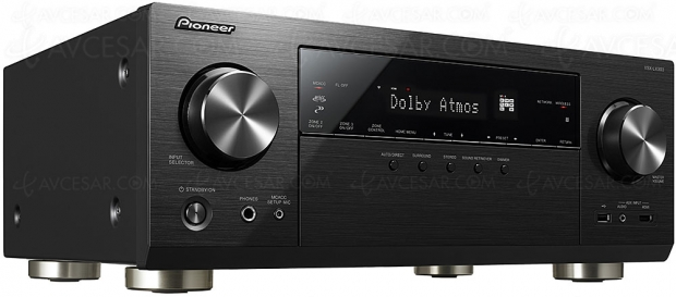 Pioneer VSX‑LX303, 9.2, Dolby Atmos, DTS:X, FlareConnect, ChromeCast, DTS Play‑FI, DSD…
