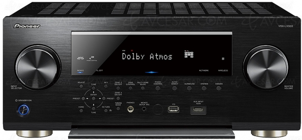 Pioneer VSX‑LX503, 9.2, Dolby Atmos, DTS:X, FlareConnect, ChromeCast, DTS Play‑FI, DSD…
