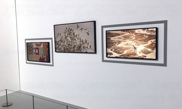 Œuvres YellowKorner sur Samsung The Frame