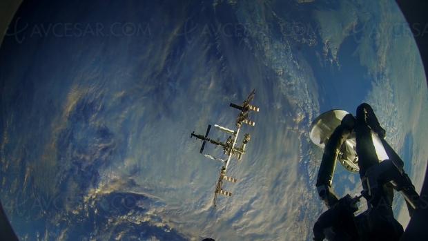 Première vidéo 3D VR filmée dans l'espace