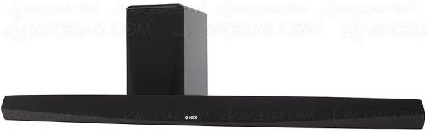 Denon Heos HomeCinema HS2, barre sonore 2.1 multiroom compatible Alexa