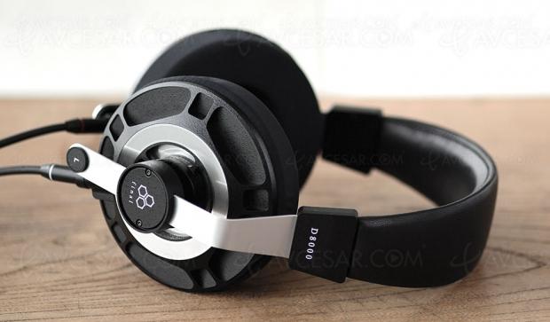 Test casque Hi‑Fi Final Audio D8000, enligne