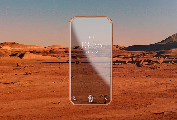 Concept Orbit: smartphone transparent etflexible