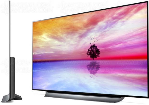 Test TV LGOLED65C8, enligne