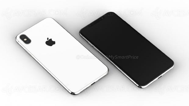Image «fuitée» de l'iPhoneXPlus, successeur del'iPhoneX…