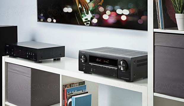 Denon AVR-X550BT, amplificateur 5.2 Bluetooth, HDMI 2.0b, HDR10, HDCP 2.2, BT.2020…