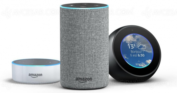 Amazon Echo, Echo Spot, Echo Dot et Alexa enfin en France !