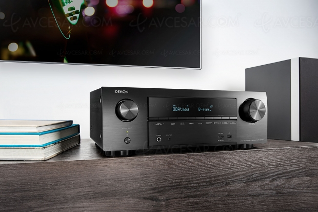 Denon AVR-X1500H, amplificateur 7.2 Bluetooth, HDMI 2.0b, HDR10, HDCP 2.2, BT.2020…