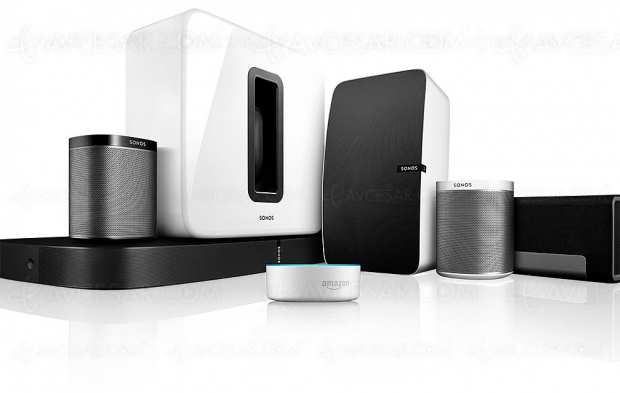 Enceintes Sonos compatibles avec Amazon Alexa
